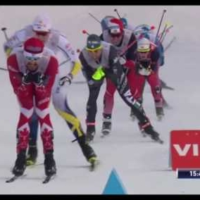 Embedded thumbnail for Victoire de l'équipe Canadienne au sprint à Toblach!!!